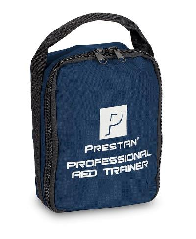 Blue carry bag for Prestan Professional AED trainer