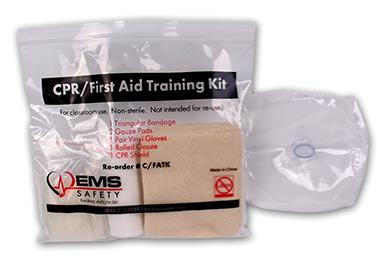 Student CPR/FA Training Kit - with Valve