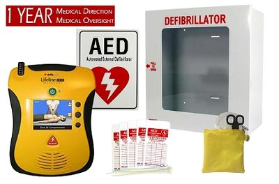 Defibtech Lifeline View Business Package
