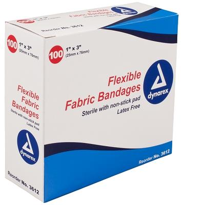 Flexible Fabric Bandages 1