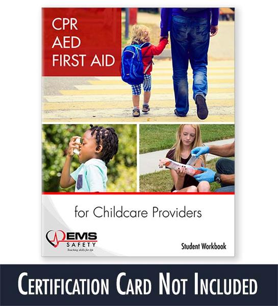 Cpr Aed First Aid For Childcare Providers Student Workbook