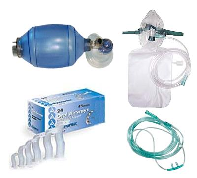 Emergency Oxygen Training Kit (Basic)