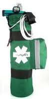 Oxygen Tube Bag - Green