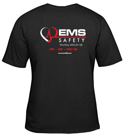 Instructor T-Shirt: EMS Logo  (3XLarge)