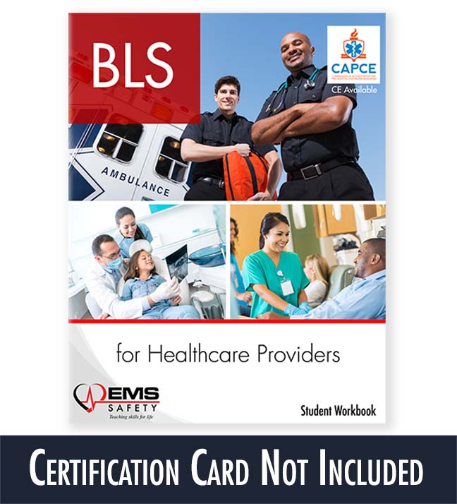 bls card student workbook certification workbooks individual included ems g15 emssafety access